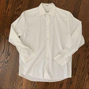 Calvin Klein White Dress Shirt